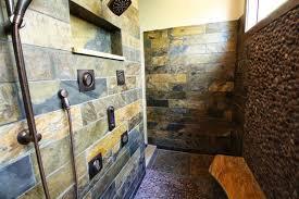 slate tile bathroom designs fresh rustic slate tiled shower rustic bathroom cleveland