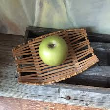 fruit by mail mid century bamboo bowl vintage bamboo fruit basket fruit bowl