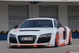 Audi R8 Front - white performance audi r8 front side details sssupersports