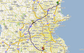 mass pike exits map boston alternative i 95 exit guide