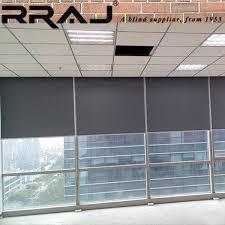 Window Blind Motor - rraj office window blinds motorized sunshade screen buy