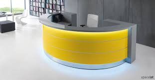 Reception Desk Plan White Reception Desks Valde Half Circle Desk Inside Half Circle