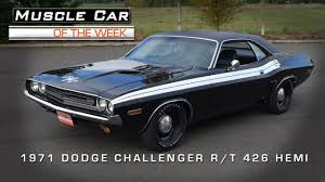 1970 71 dodge challenger for sale car of the week 38 1971 dodge challenger r t 426