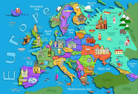 map of eurpor map of europe maps