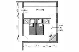 plan dressing chambre