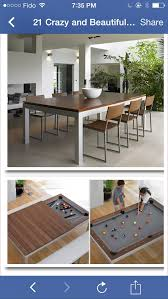 Pool Table Dining Room Table Best 20 Dining Room Pool Table Ideas On Pinterest Pool Tables