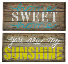 wooden wall art home sweet home sign inhouse habits