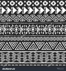 black and white navajo ethnic seamless pattern aztec abstract save