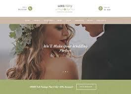 wedding planner websites 8 best wedding planner themes for 2017 siteturner