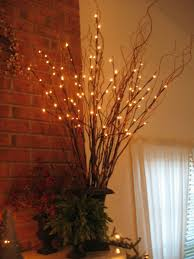 Home Decor With Lights 35 Best Branch Decorations Images On Pinterest Home Diy And