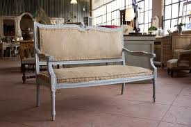French Settee Loveseat Antique French Louis Xvi Style Settee For Sale At 1stdibs