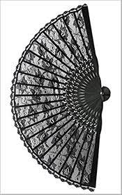 black lace fan black lace fan black lace fan lace fan