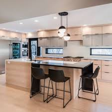 light oak kitchen cabinets modern 75 beautiful contemporary kitchen with light wood cabinets