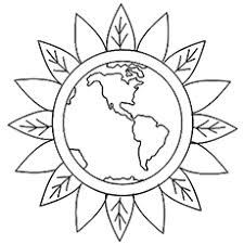 green coloring page top 15 free printable earth coloring pages online