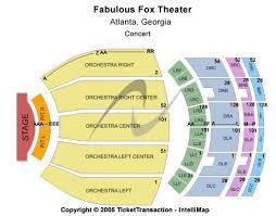 fox theater floor plan fox theater seating chart best seat 2018