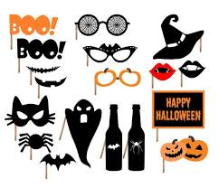 halloween photo booth props printable pdf halloween photo booth props instant download 7 90 classic