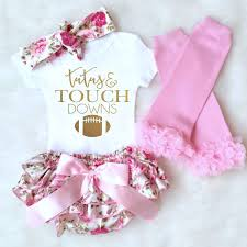 baby clothes baby football onesie tutus and