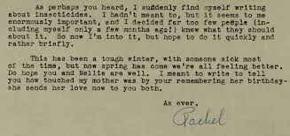 Birthday Love Letters For Her Nature Wondrous And Fragile The Correspondence Of Rachel Carson