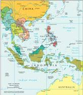 middle east map water bodies geography for southeast asia