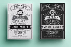 birthday invitation template printable retro birthday invitation template black and white birthday