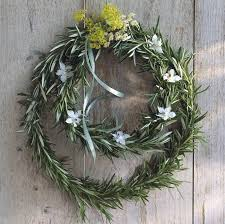 herb wreath make a magical herb wreath