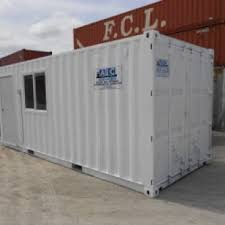 Office Storage Containers - 20ft office storage abc containers perth