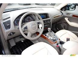 Audi Q5 Interior - cardamom beige interior 2010 audi q5 3 2 quattro photo 48525427