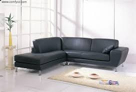 Grey Leather Sectional Sofa Furniture Grey Leather Sectional Sofa With Chaise Plus Cream Fur