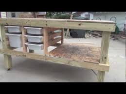 Craft Table Building An Art And Craft Table Youtube