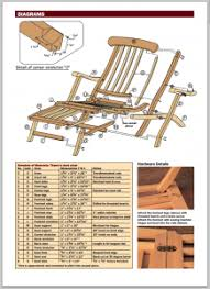 Wood Furniture Plans Pdf by Free Deck Chair Plans Titanic Style Woodwork City Free