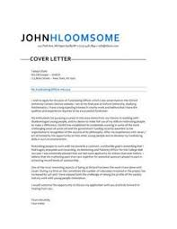 283 cover letter templates for any job