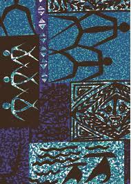 Upholstery Fabric Hawaii Lava Barkcloth Hawaii Fabrics Vintage Style Hawaiian Fabrics
