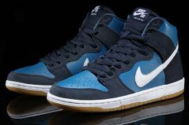 Blue Shades A Couple Of Shades Of Blue Cover This Nike Sb Dunk High