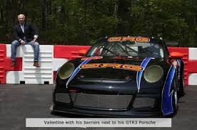 richard rj valentine campaigns for safer race track barriers