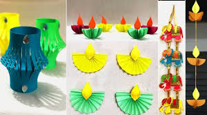 diwali home decorations 5 very easy diwali decoration ideas 2017 diy home decor youtube