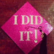 pink graduation cap how to look in your graduation cap and gown keepsakes