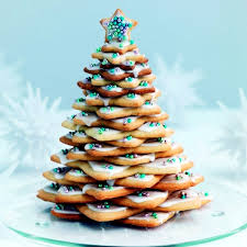 ideas for arrangements with festive cookies and