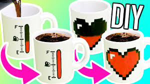 Crazy Cool Mugs Diy Color Changing Mugs Make Magic Mugs For Gifts Youtube