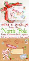 north pole special delivery labels design dazzle