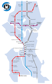 Seattle City Limits Map by Let U0027s Build A Seattle Subway