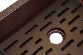 Traxx Grate For Copper Kitchen Sink Artisan Crafted Home - Kitchen sink grates