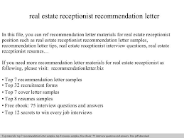 real estate reference letter rental reference letter example