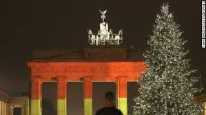 German New Year Decorations by Berlin Attack Police Hunt Tunisian Suspect After Finding Id