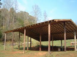 Inexpensive To Build House Plans How To Build An Inexpensive Pole Barn Http Www Ecosnippets Com