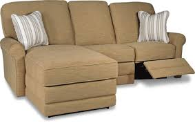 Reclining Sectional Sofa Two Piece Reclining Sectional Sofa With Laf Reclining Chaise By La