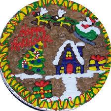 Cookie Cake Christmas Snow Village U2014 Buy Cookie Cake Christmas