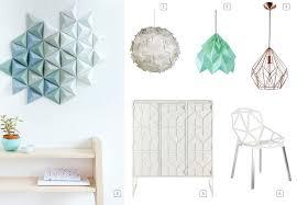 suspension origami diy origami spring 2016 u0027s décor trend bnbstaging le blog
