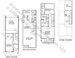 row home floor plan picturesque design modern row home floor plan 5 town house plans