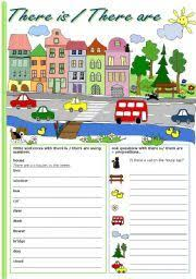english teaching worksheets there is there are ideas
