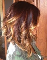 medium length hair with ombre highlights contrasting blonde highlights hairstyles weekly